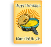 Happy Hanukkah! Canvas Print