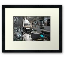 Kyoto Rail Station  Framed Print