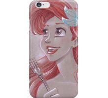 Toned Paper Ariel iPhone Case/Skin