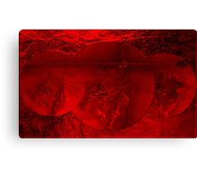 RED-  Art + Products Design  Canvas Print