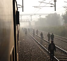 Overnight Train to New Delhi, India 2009 by Michael Sissons