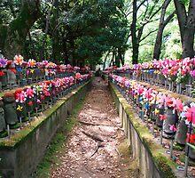 Statues for Unborn Children in Tokyo  by jojobob