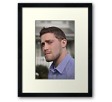 Smug Mug Framed Print