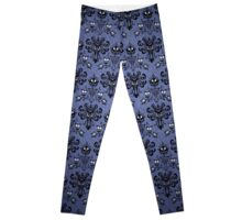 Haunted Mansion Wallpaper Leggings
