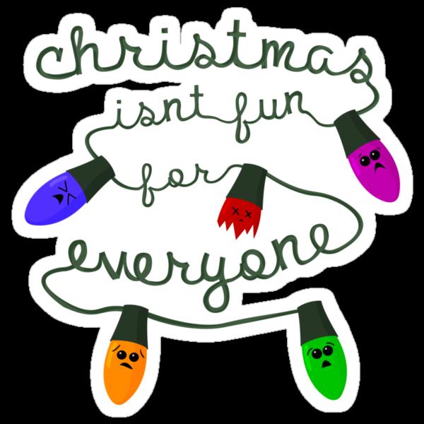 Christmas isn't fun for everyone... by petegrev