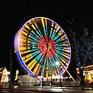 Christmas Funfair lights by tayforth