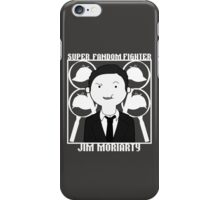 Super Fandom Fighter - Moriarty iPhone Case/Skin