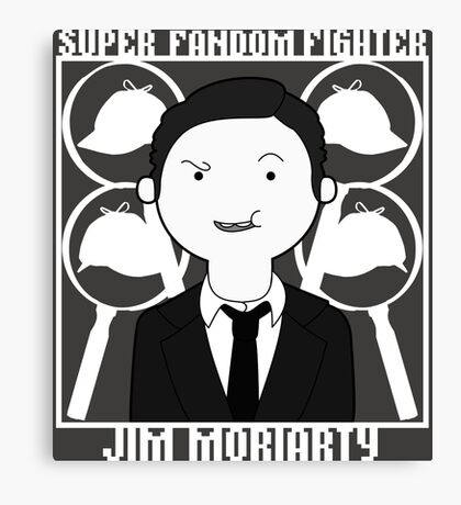 Super Fandom Fighter - Moriarty Canvas Print