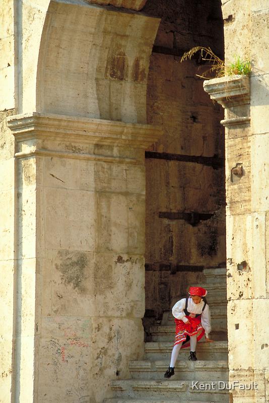 Italian Girl - Rome by Kent DuFault