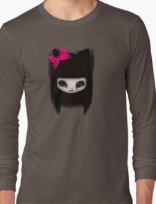 Little Scary Doll Updated Long Sleeve T-Shirt