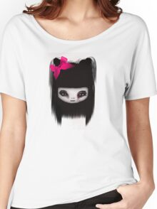 Little Scary Doll Updated Women's Relaxed Fit T-Shirt