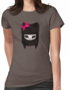 Little Scary Doll Updated Womens Fitted T-Shirt