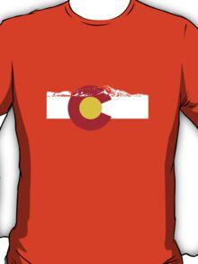 Rocky Mountains - Colorado Flag T-Shirt