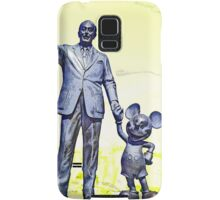 Walt and Mickey Samsung Galaxy Cases and Skins Yellow Samsung Galaxy Case/Skin