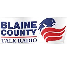 Blaine Country Talk Radio Poster