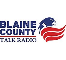 Blaine Country Talk Radio Photographic Print