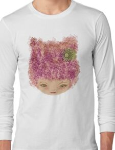 pink doll Long Sleeve T-Shirt
