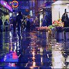 January Atmospheric London by cheburashka
