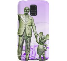 Walt and Mickey Samsung Galaxy Cases and Skins Purple Samsung Galaxy Case/Skin
