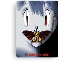 The Silence of the Trainers Canvas Print