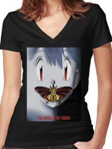 The Silence of the Trainers Women's Fitted V-Neck T-Shirt