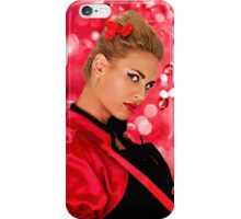 Blonde Fashion Girl Portrait Fine Art Print iPhone Case/Skin