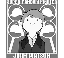 Super Fandom Fighter - Watson Photographic Print