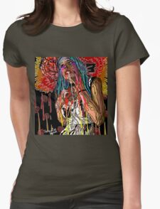 LOVE YER BRAIN Womens Fitted T-Shirt