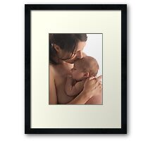 Mother and Child #3325 Framed Print