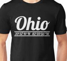 Ohio - State Coordinates Unisex T-Shirt