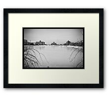 View From Grand Avenue Bridge Framed Print