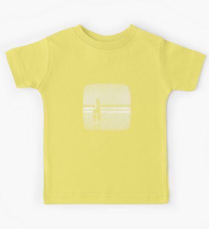 Stand by your Board - Halftone (White) Kids Tee