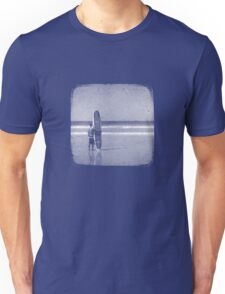 Stand by your Board - Halftone (White) Unisex T-Shirt