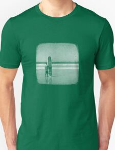Stand by your Board - Halftone (White) T-Shirt