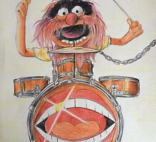 Animal the Muppets  by Maudster
