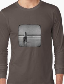 Stand by your Board - Haftone Long Sleeve T-Shirt