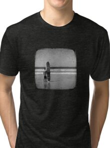 Stand by your Board - Haftone Tri-blend T-Shirt