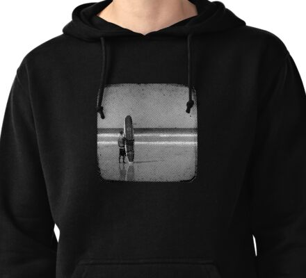 Stand by your Board - Haftone Pullover Hoodie