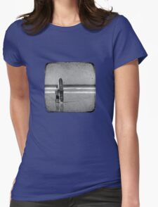 Stand by your Board - Haftone Womens Fitted T-Shirt