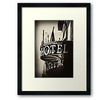 Hotel - Argentina Framed Print