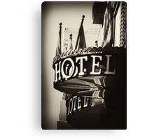 Hotel - Argentina Canvas Print
