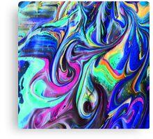 ACID PAINT Canvas Print
