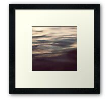 beauty of the ocean Framed Print