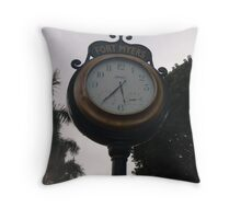 What time is it in Fort Meyers? Throw Pillow