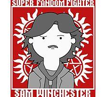 Super Fandom Fighter - Sam Photographic Print