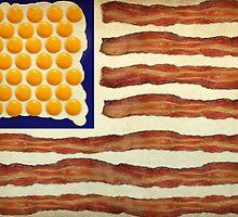 Egg'n'Bacon Flag by ArtByRuta