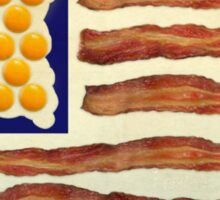 Egg'n'Bacon Flag Sticker