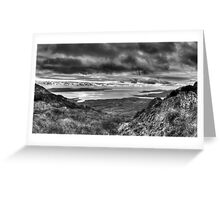 Bantry bay from Sugarloaf Greeting Card