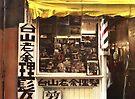 Barber Shop on Ross Alley by Barbara Wyeth