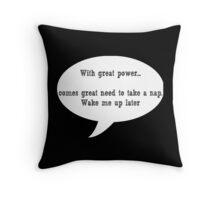 A Great Need Throw Pillow